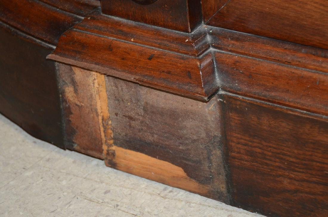 Walnut Victorian Renaissance Revival MT sideboard - 3