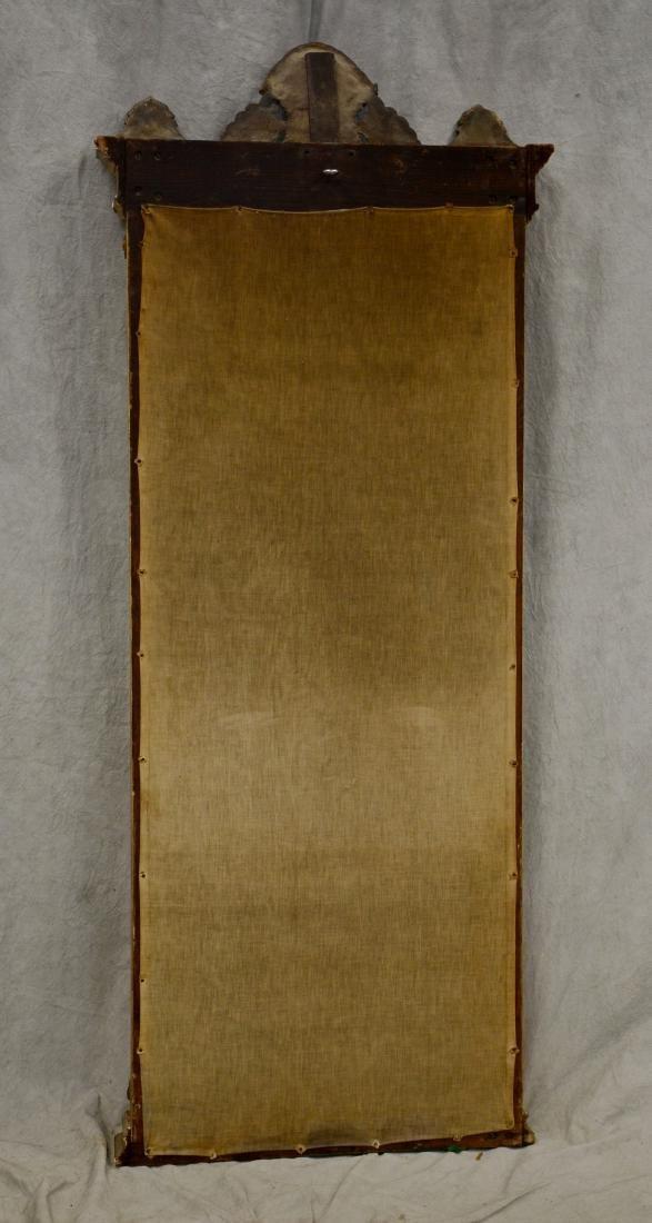 Renaissance Revival gold leaf Victorian pier mirror - 2