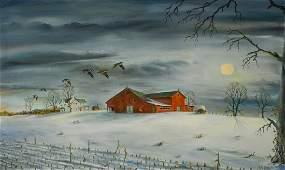 Frank H Jefferis (American, 1911-1986), o/c