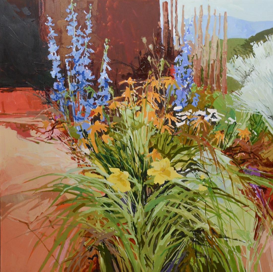Douglas Atwill, Santa Fe, acrylic/linen