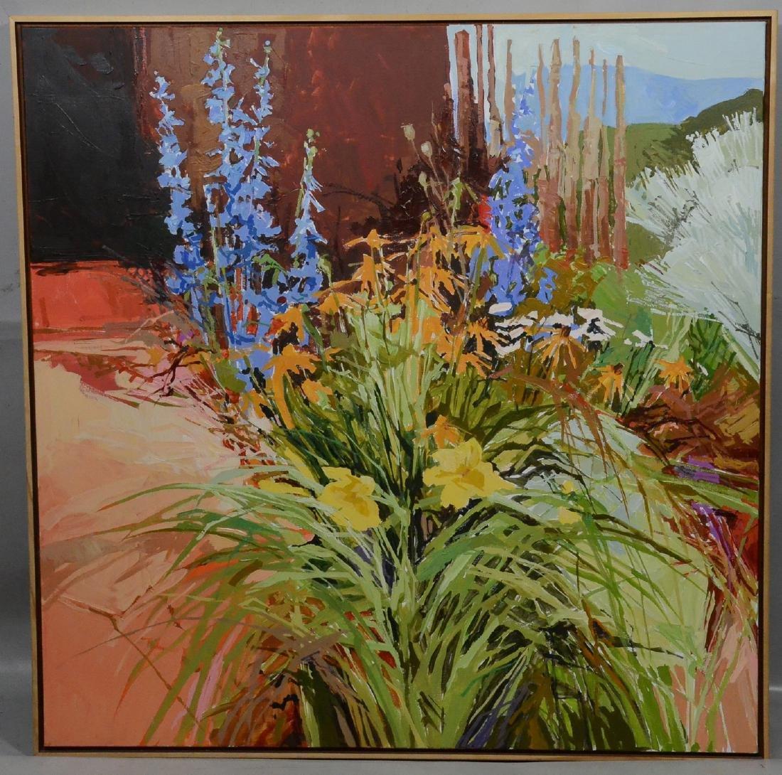 Douglas Atwill, Santa Fe, acrylic/linen - 2