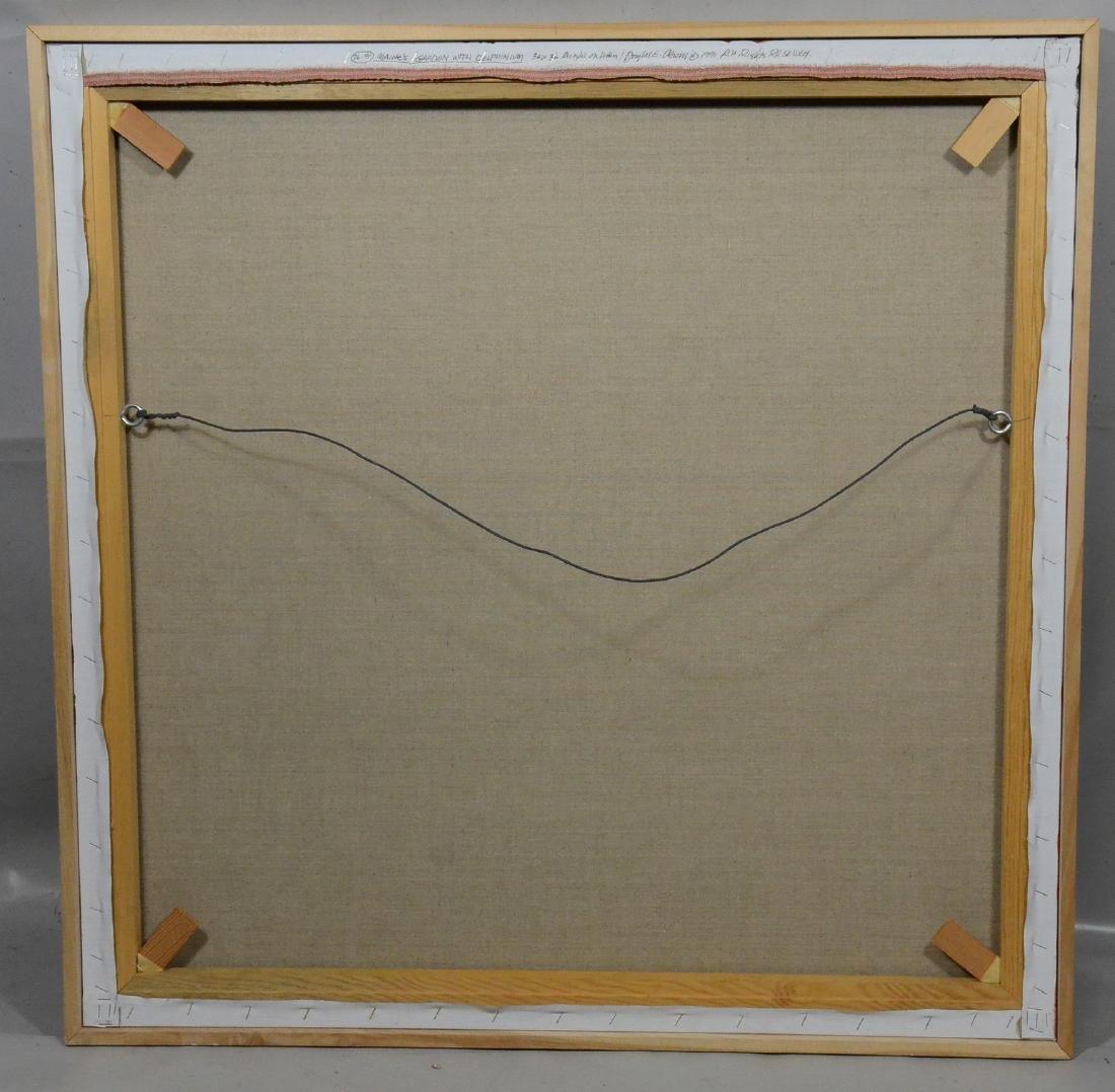 Douglas Atwill, Santa Fe, acrylic/linen - 3