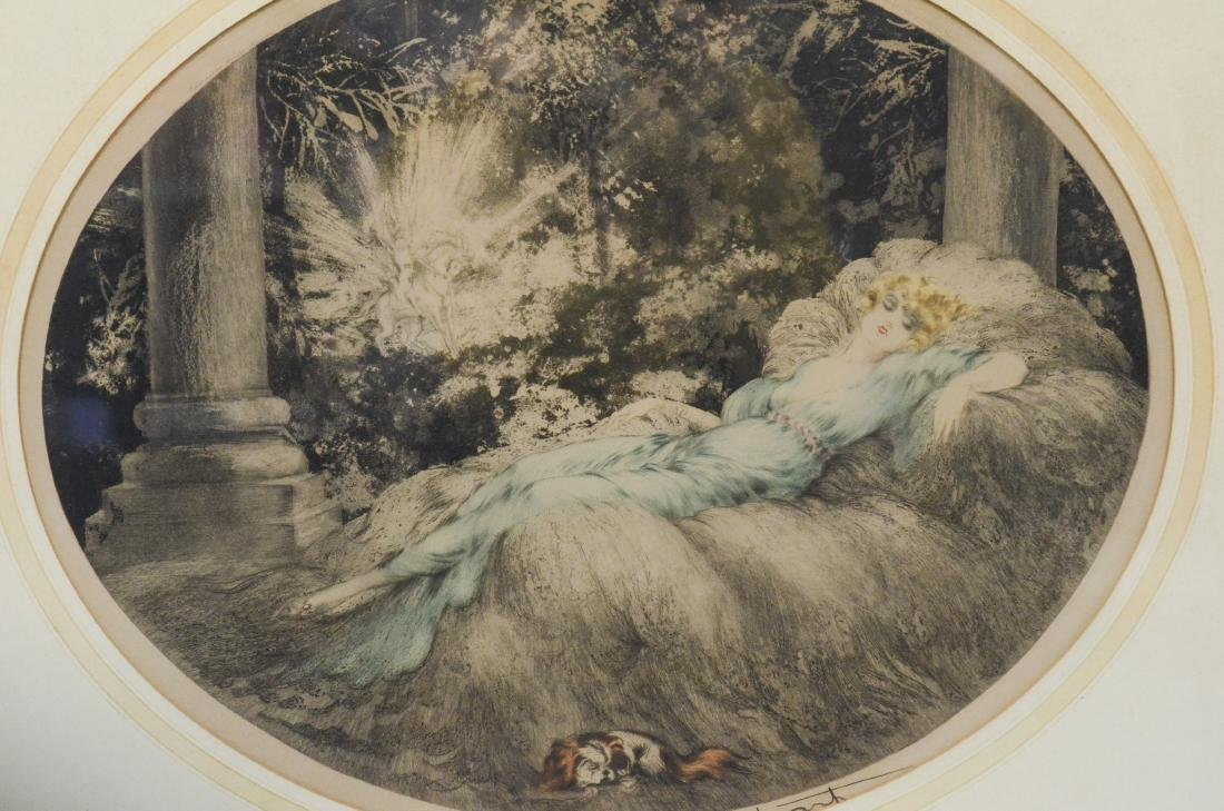 Louis Icart (French, 1888-1950), Sleeping Beauty
