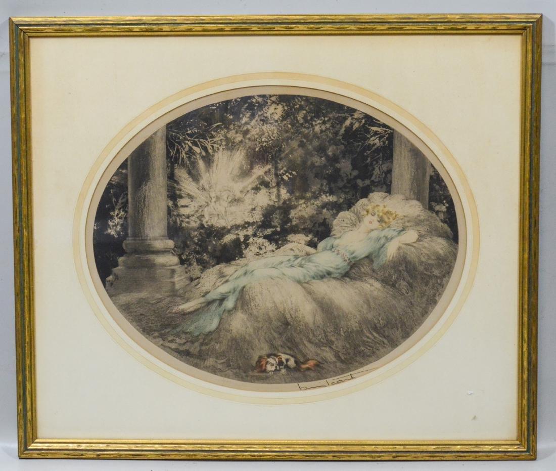 Louis Icart (French, 1888-1950), Sleeping Beauty - 2