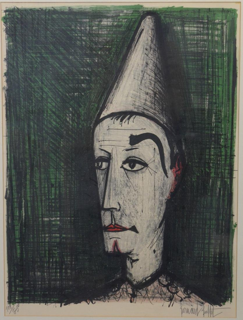 Bernard Buffet (French, 1928-1999), color lithograph