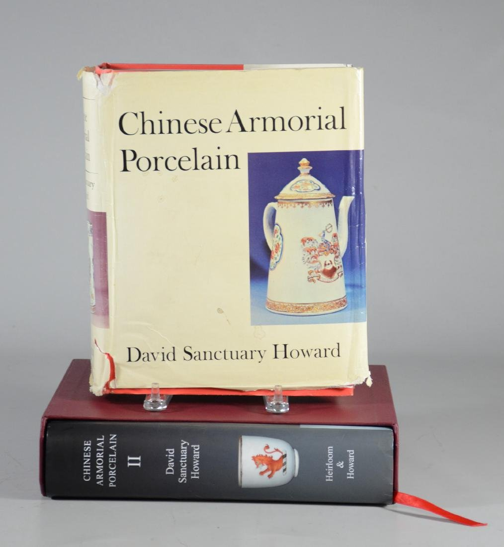 """Chinese Armorial Porcelain"", David Howard, 2 Volume"