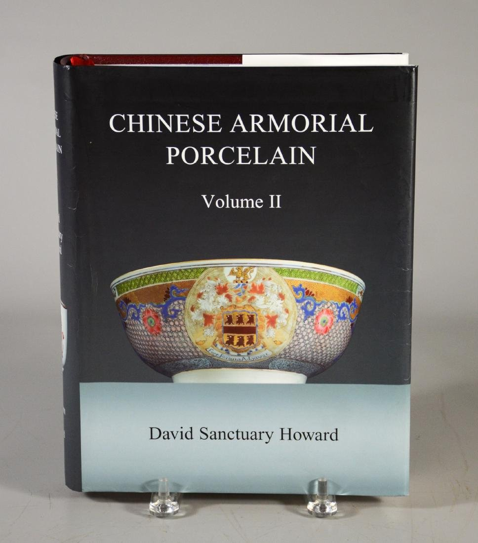 """Chinese Armorial Porcelain"", David Howard, 2 Volume - 4"