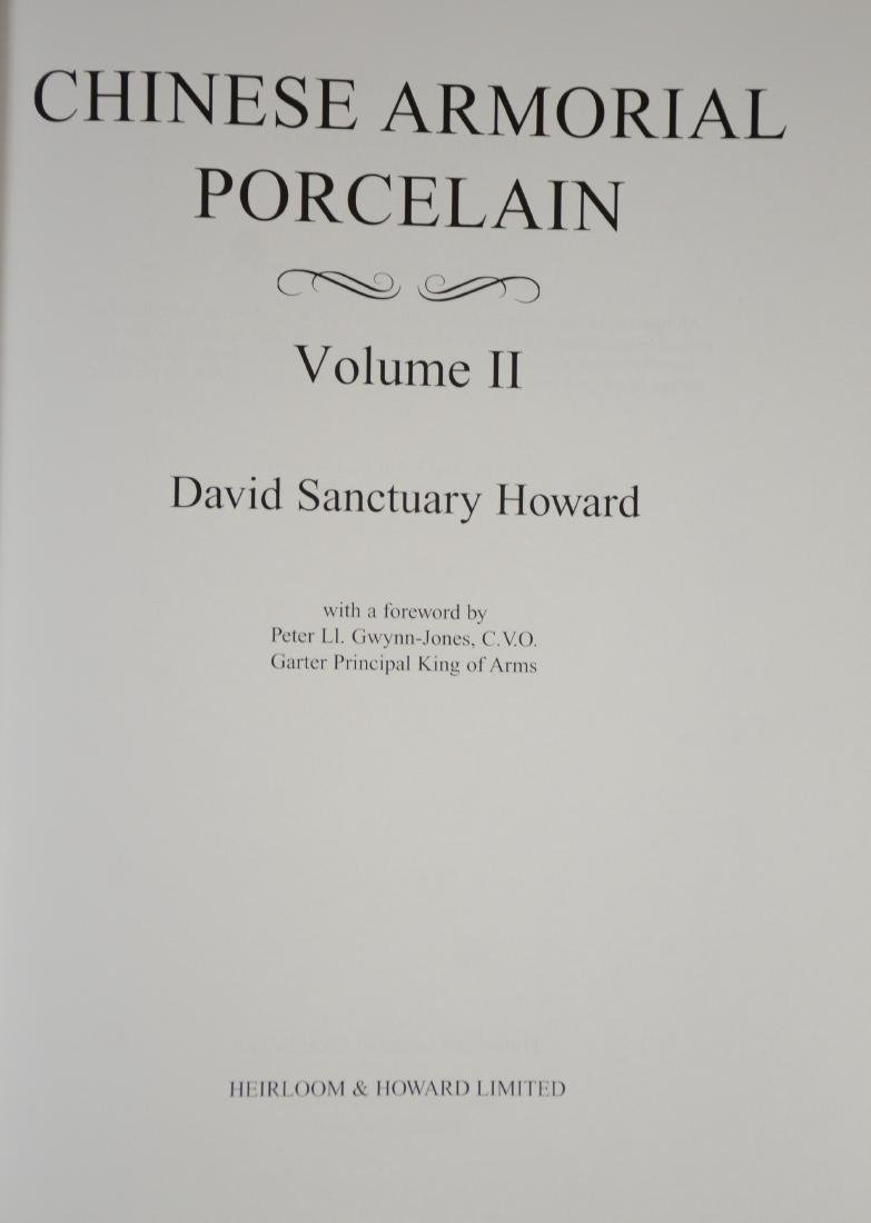 """Chinese Armorial Porcelain"", David Howard, 2 Volume - 5"