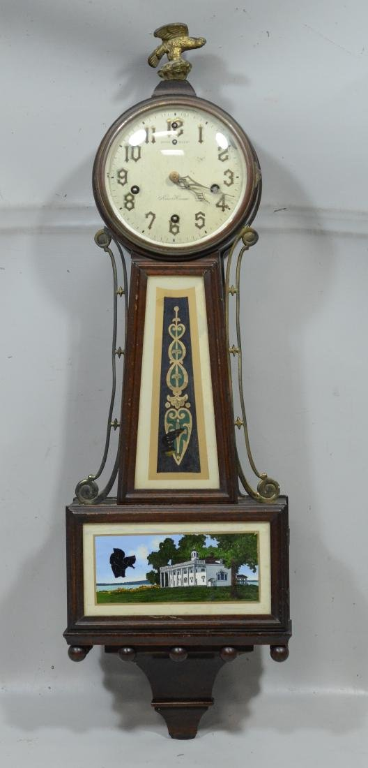 New Haven  Winsome Chime RGN banjo clock