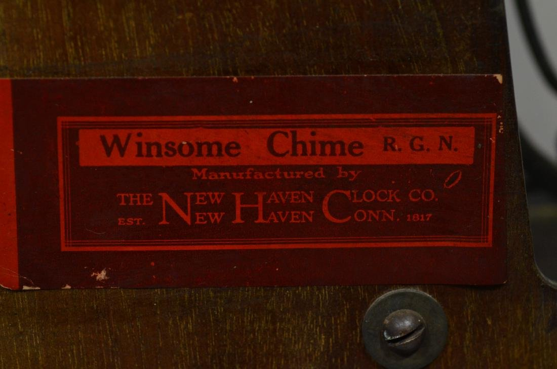 New Haven  Winsome Chime RGN banjo clock - 3