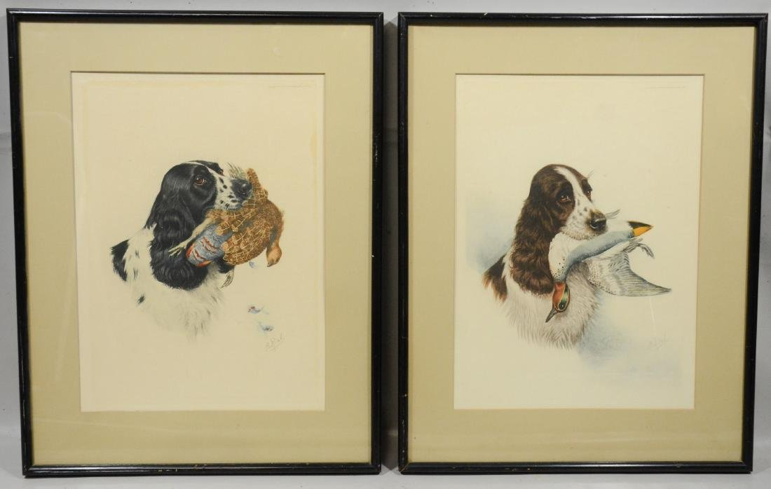Boris Riab (French-Russian, 1898-1975), etchings