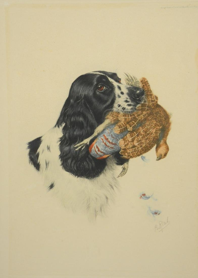 Boris Riab (French-Russian, 1898-1975), etchings - 2