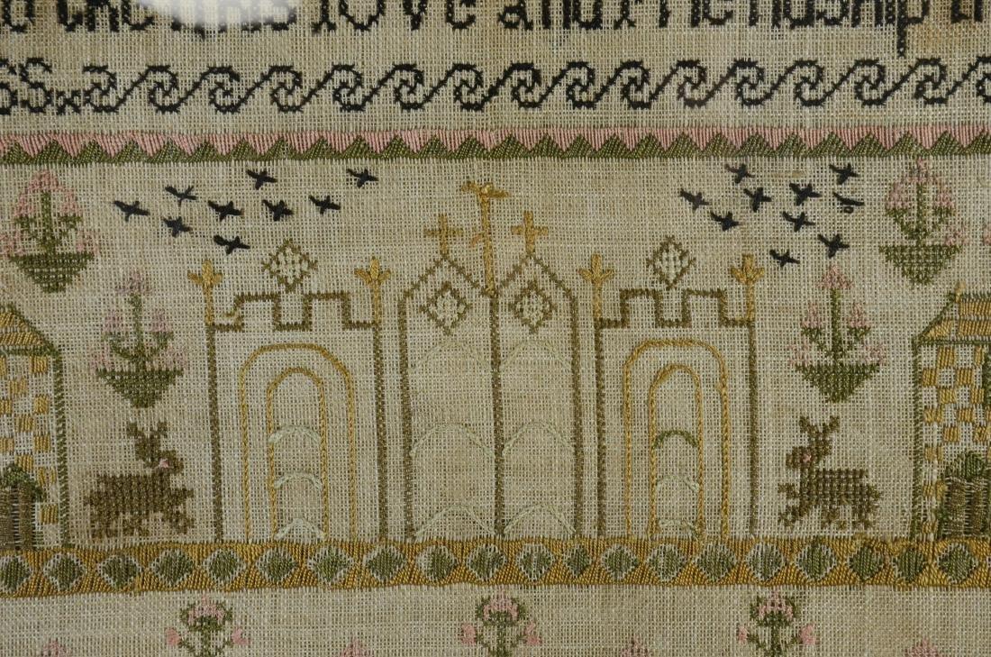 Mary Atkinson, Her Needlework Age 9 - 3