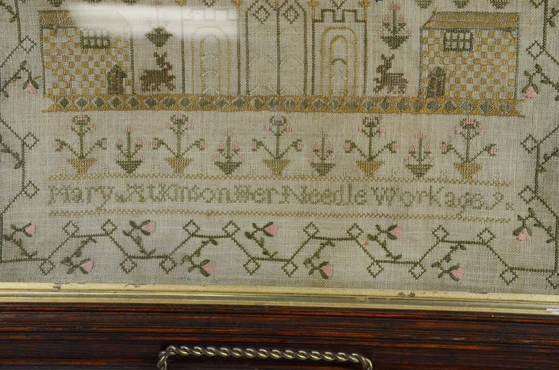 Mary Atkinson, Her Needlework Age 9 - 4