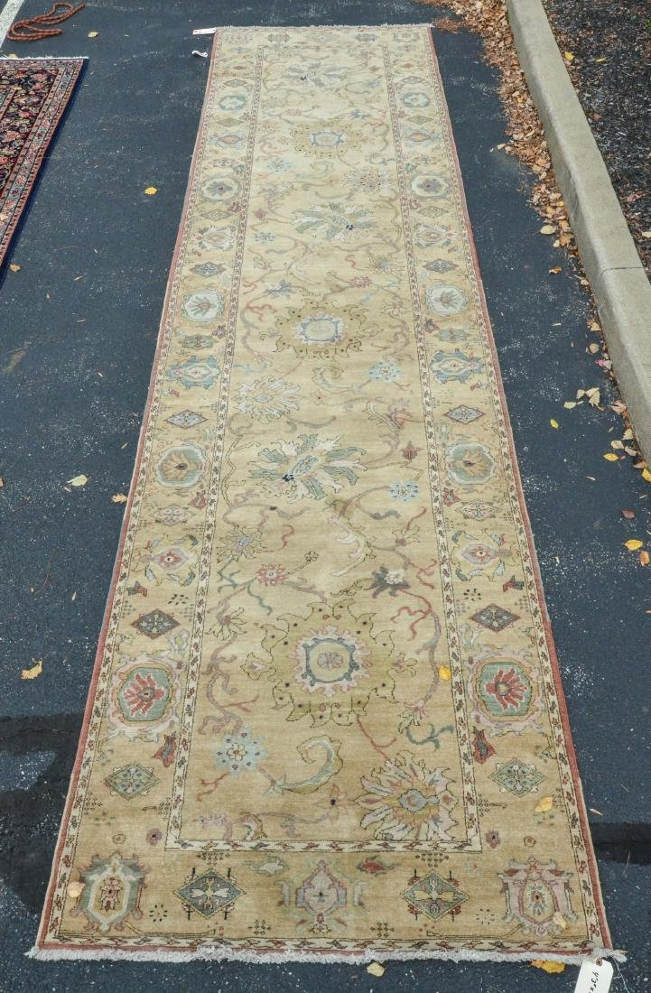 "Camel Turkish Runner; measures  4'3"" x 16'10"""