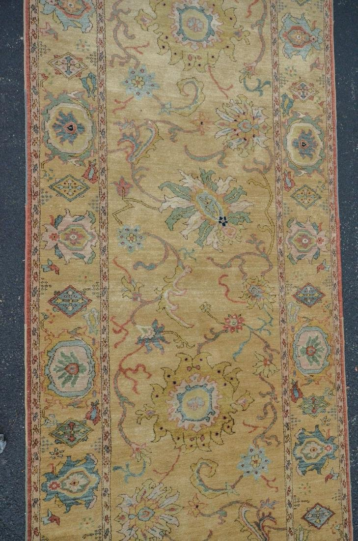 "Camel Turkish Runner; measures  4'3"" x 16'10"" - 2"
