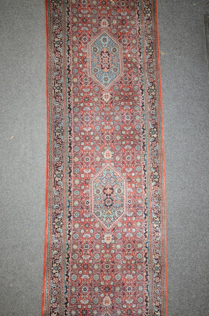 "2'7 ""x 17' Turkish runner, good condition - 3"