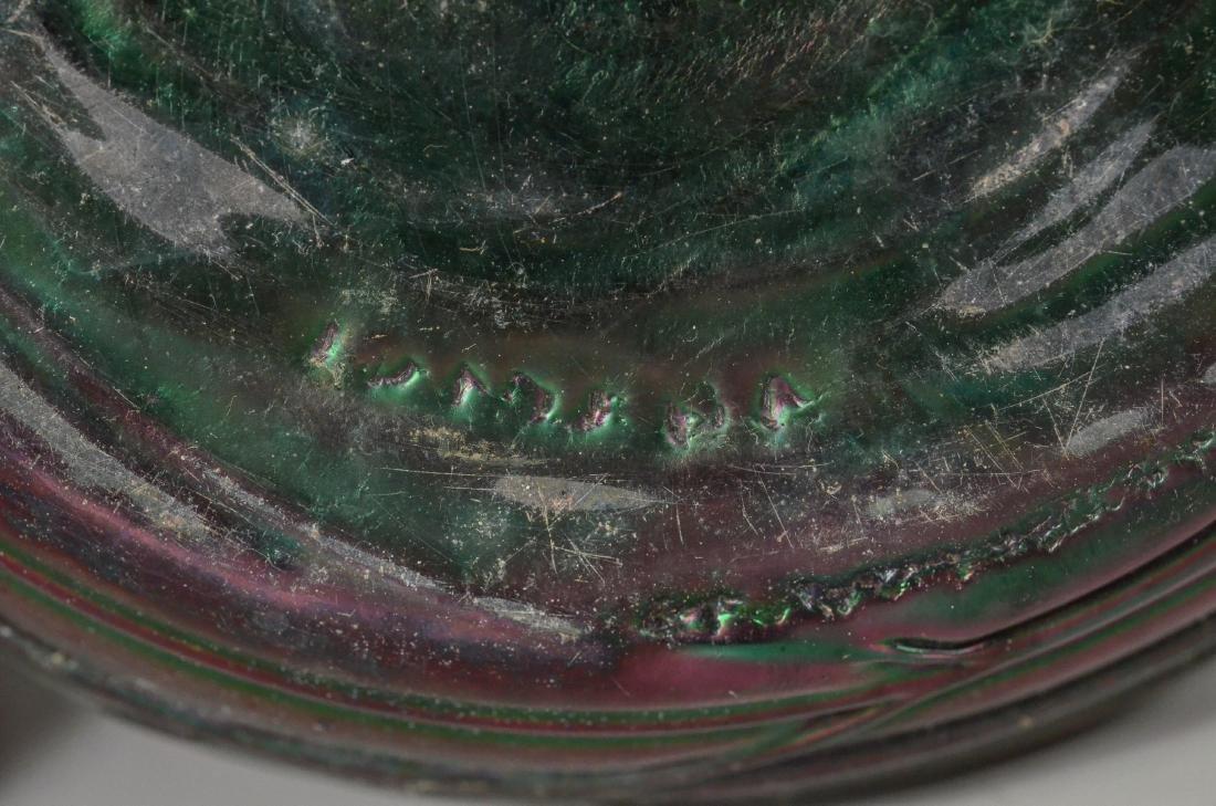 Loetz type art glass vase - 4