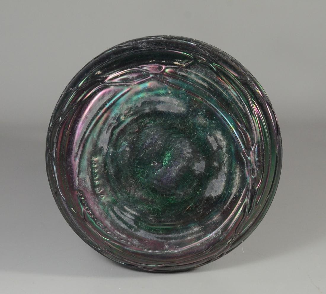 Loetz type art glass vase - 5