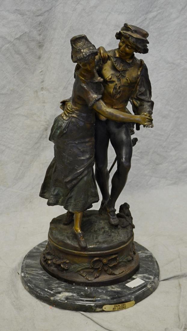 After Adrien Gaudez, French, bronze sculpture