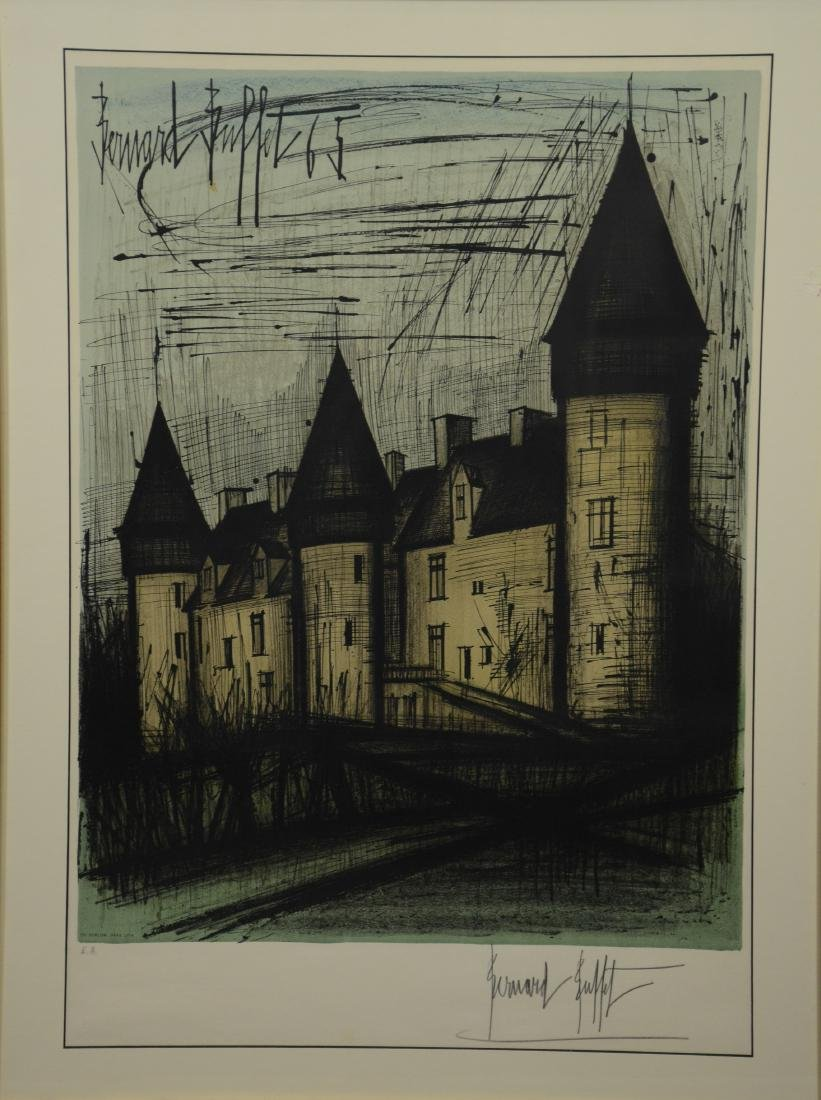 Bernard Buffet, French, 1928-1999, Color Lithograph