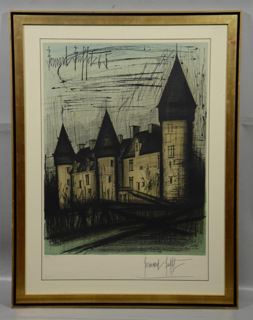 Bernard Buffet, French, 1928-1999, Color Lithograph - 2