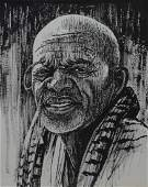 Donald L Miller African American 20th C portrait