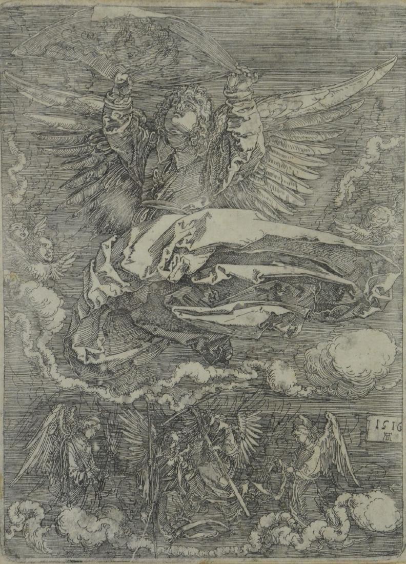 Albrecht Durer (Dutch, 1471-1528), iron etching on pa