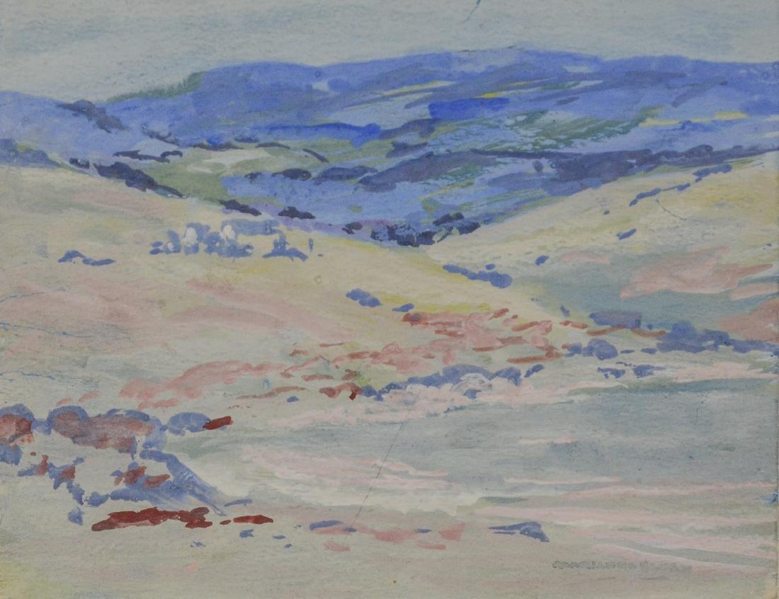 Marianna Sloan (American, PA, 1875-1954), set of 3 wa - 3