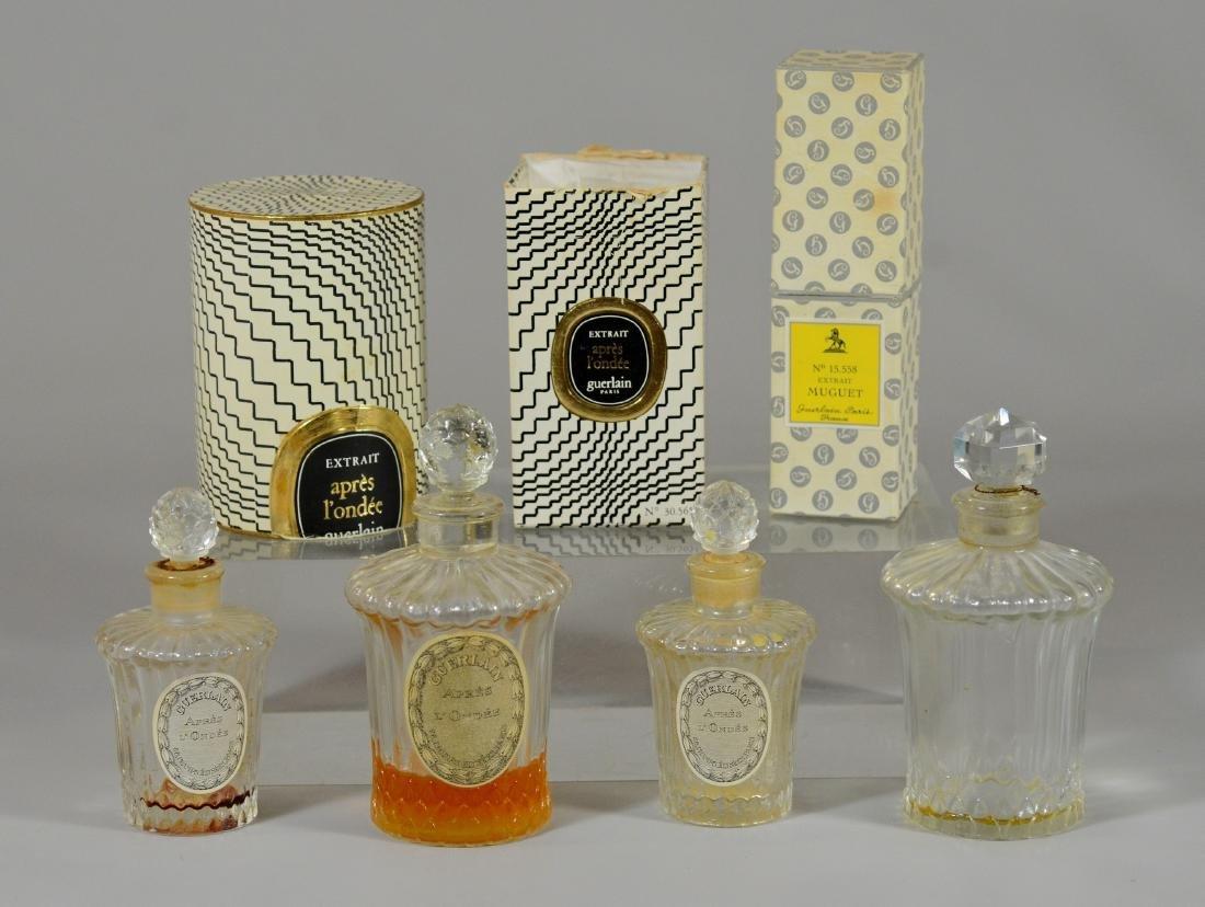 (5) Bottles of Vintage Guerlain Perfume