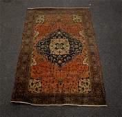 "6'5"" x 4' Antique Feraghan Oriental rug"