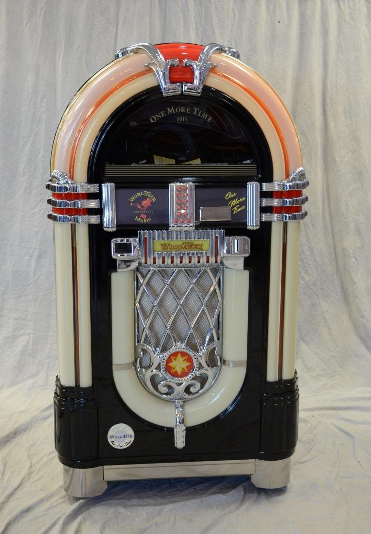 Wurlitzer coin operated CD player jukebox One More Time