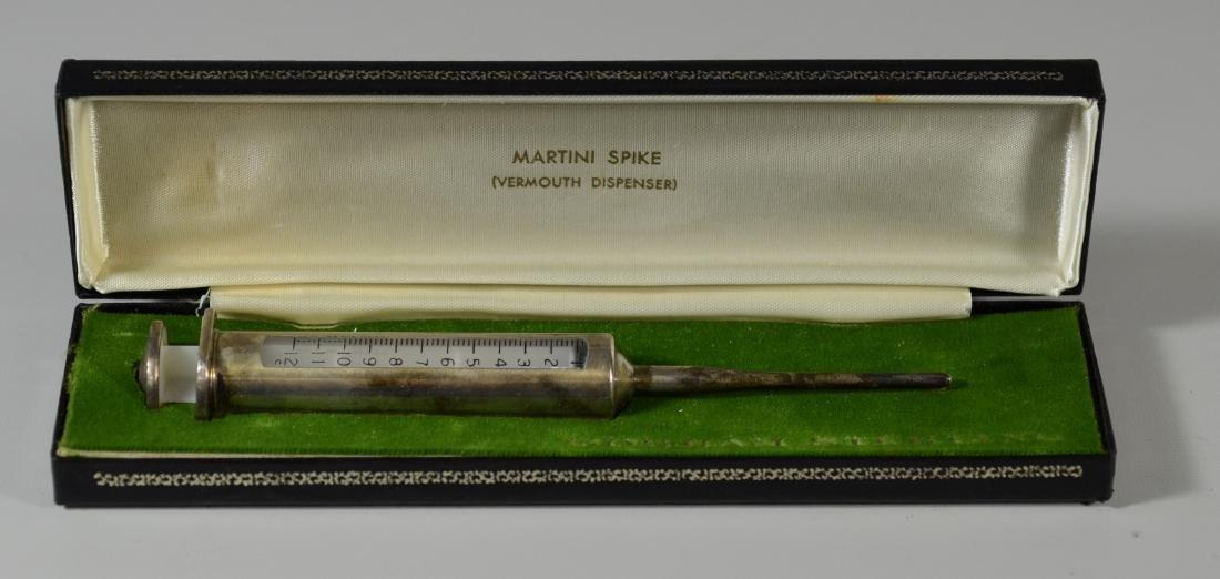 Gorham sterling silver Martini Spike syringe