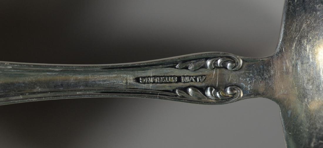 45 pcs Alvin Prince Eugene sterling silver flatware - 6