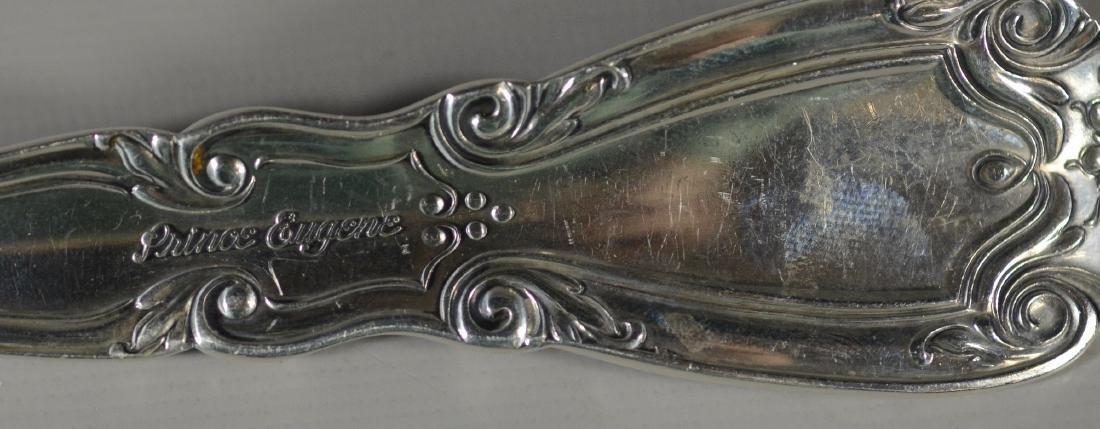 45 pcs Alvin Prince Eugene sterling silver flatware - 7
