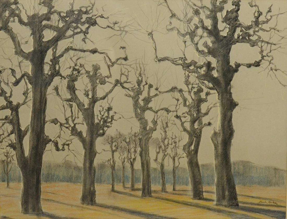 Paul Gorka (American PA artist), landscape drawing