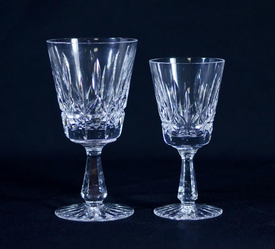 "22 Pcs Waterford ""Rosslare"" crystal stemware"