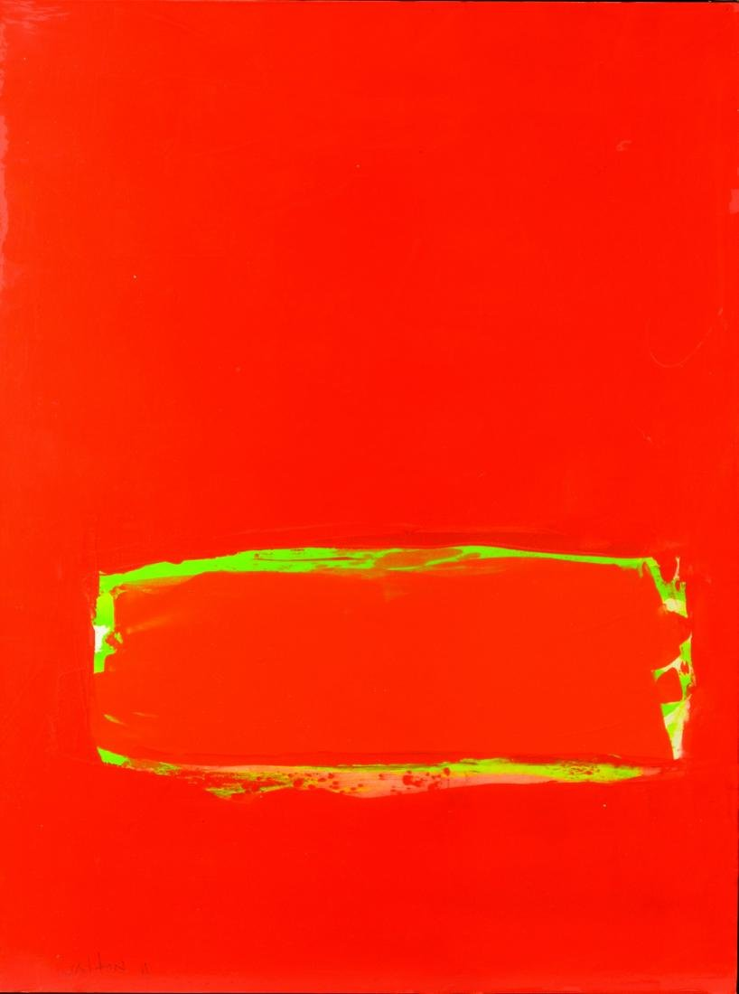 2 Contemporary abstract paintings, Elizabeth Foster - 2