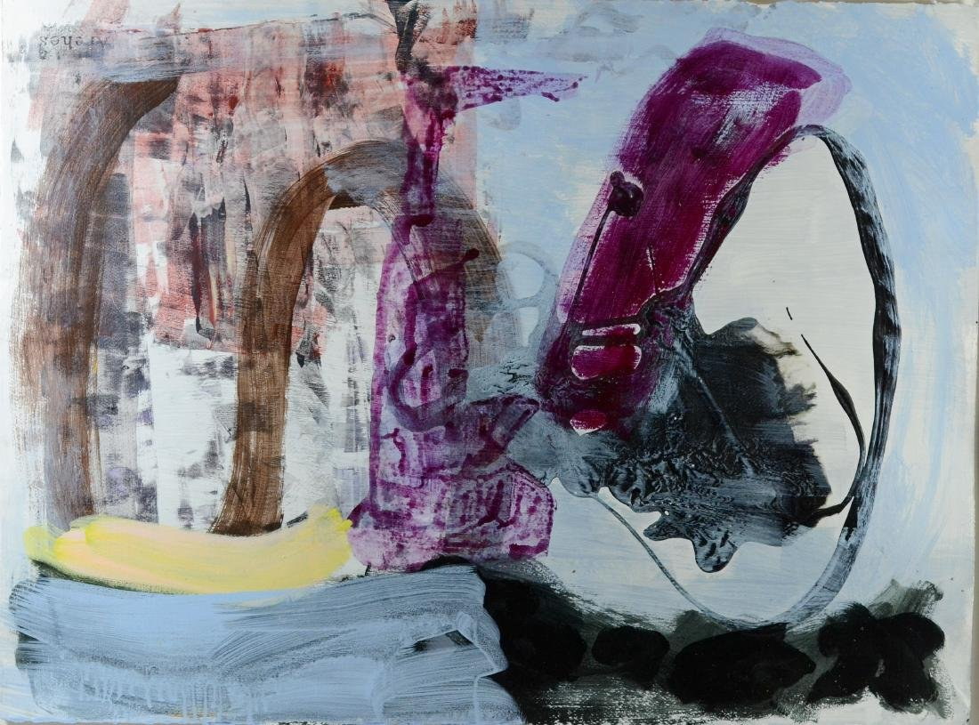 2 Contemporary abstract paintings, Elizabeth Foster - 6