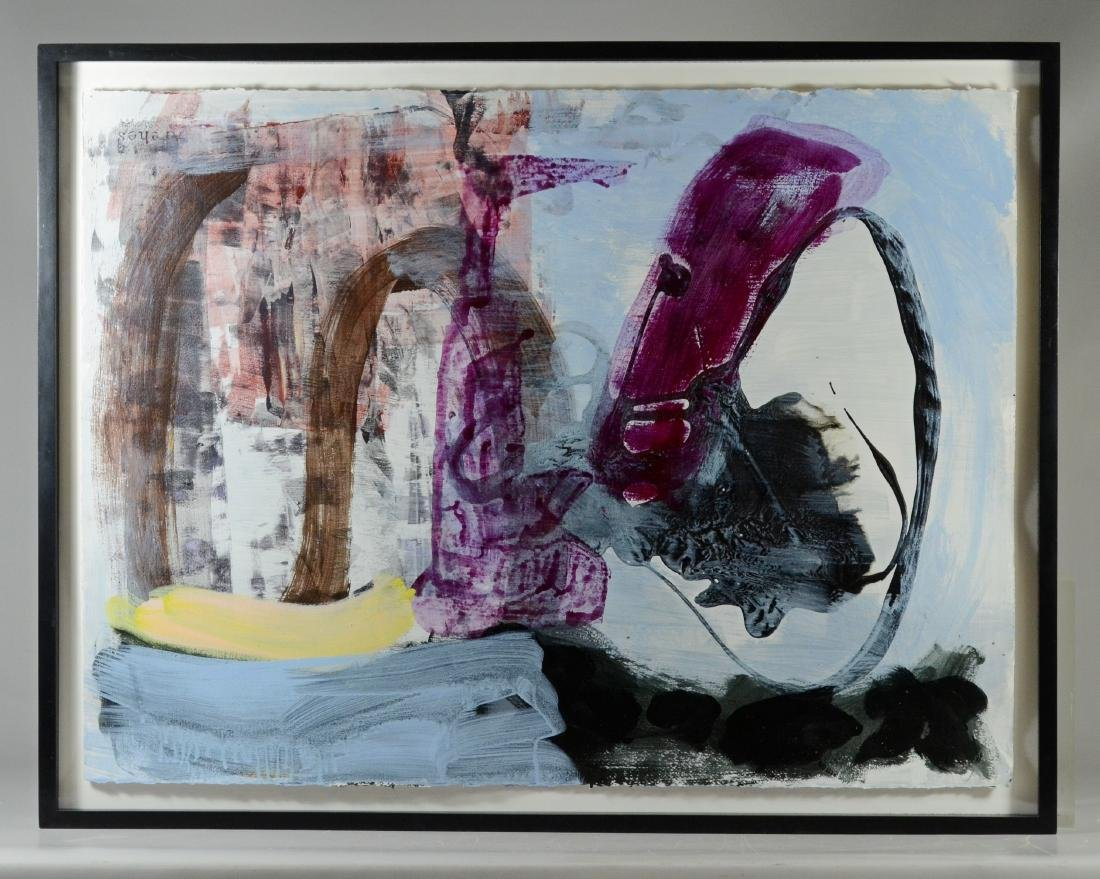 2 Contemporary abstract paintings, Elizabeth Foster - 7