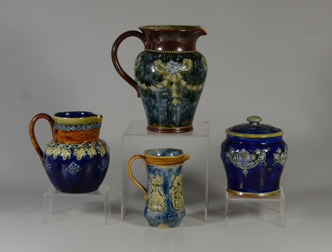 4 Royal Doulton stoneware pieces
