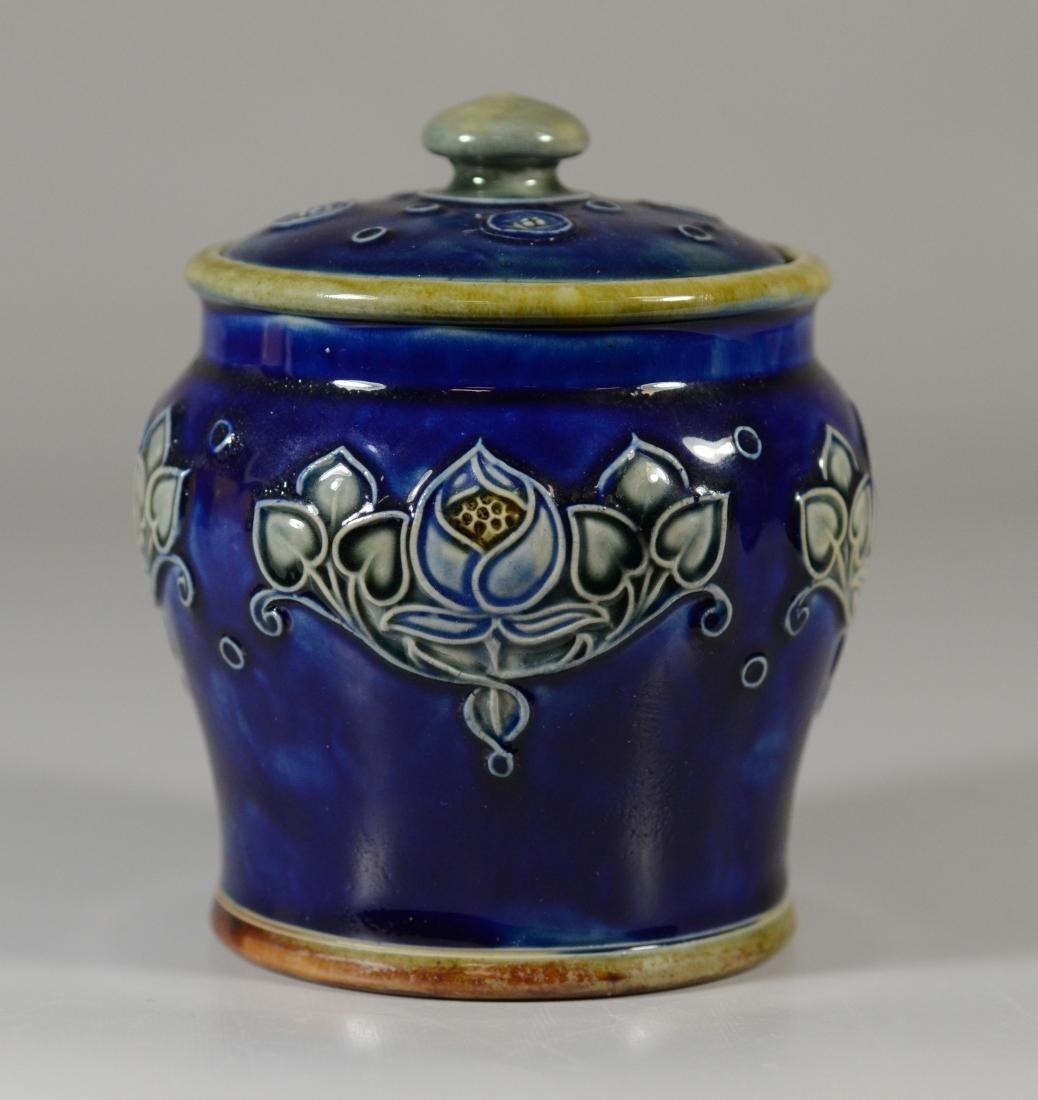 4 Royal Doulton stoneware pieces - 6
