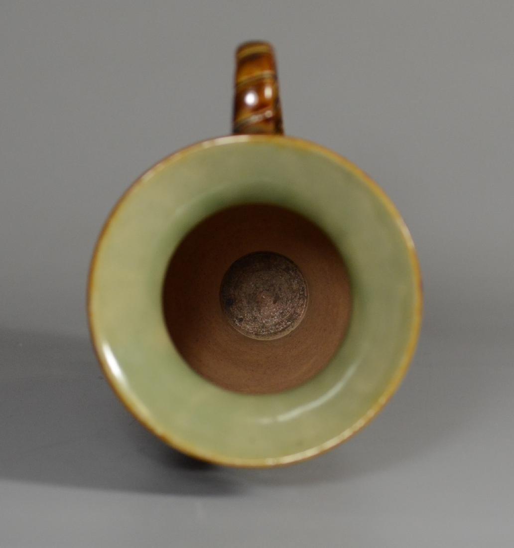 Doulton Lambeth figural stoneware pitcher - 4