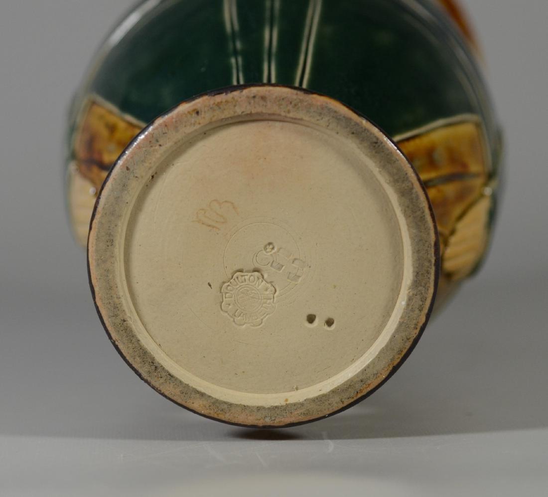 Doulton Lambeth figural stoneware pitcher - 6