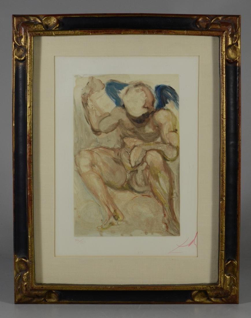"Salvador Dali color lithograph, ""L'Envie"" - 2"