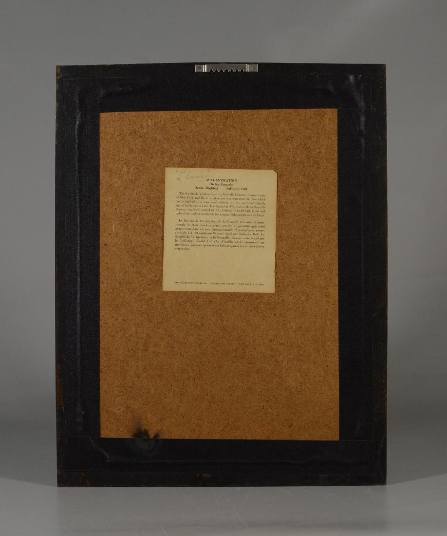 "Salvador Dali color lithograph, ""L'Envie"" - 5"