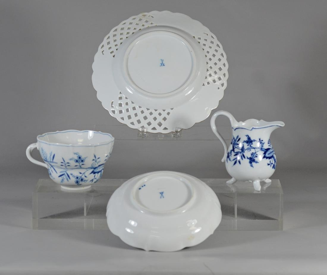 (4) Pieces of Meissen, to include an oversized cup - 2
