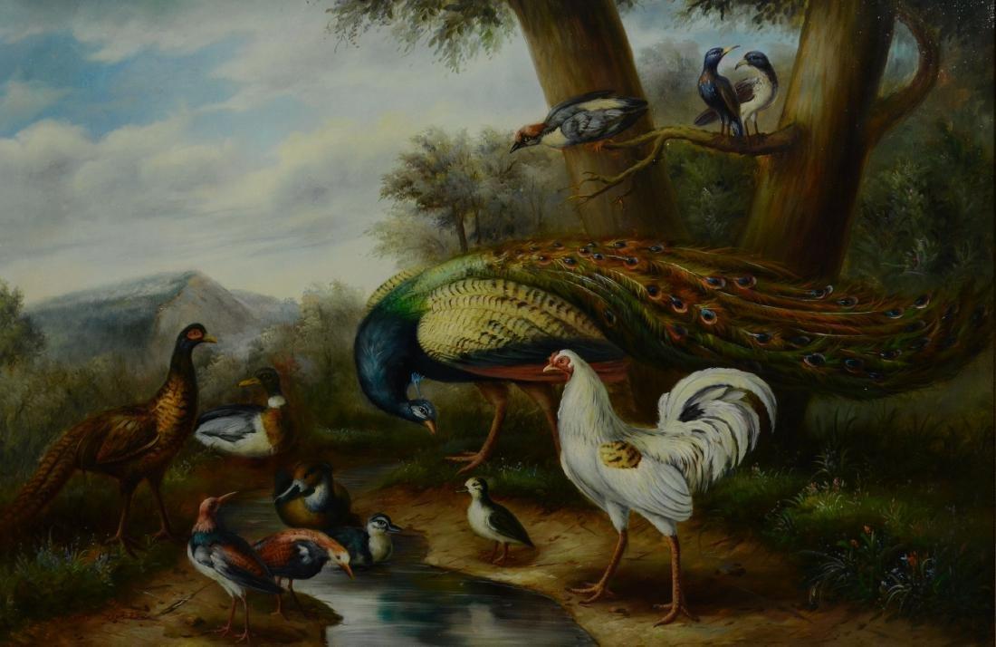 Large Contemporary Oil Landscape Painting
