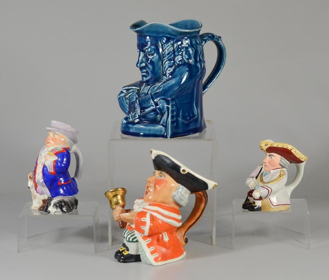 4 Wedgwood toby jugs - 2