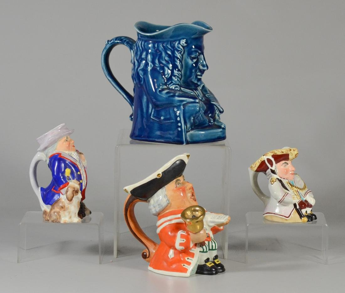 4 Wedgwood toby jugs - 3